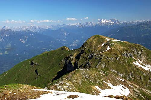 Monte Verzegnis northern views