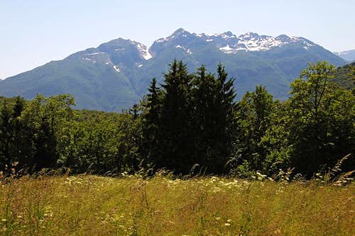 Monte Verzegnis from the north