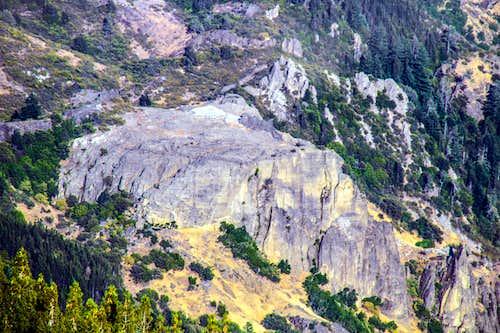 Table Rock from St. Helena East Peak