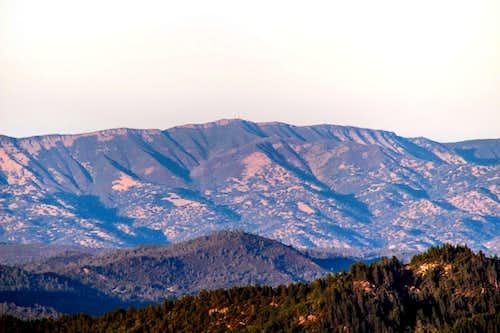 Berryessa Peak from St. Helena