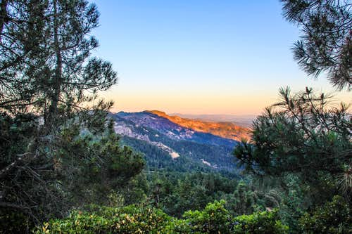 Mount  Saint Helena East Peak