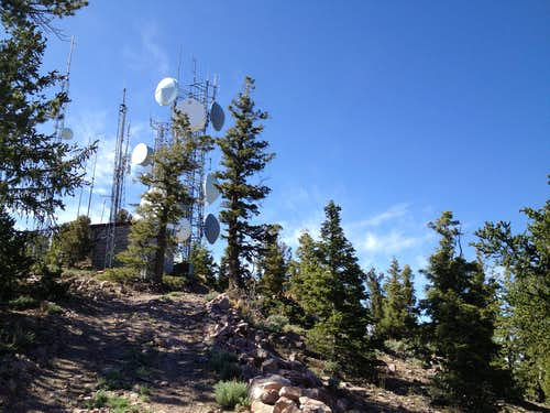 Frisco Peak towers