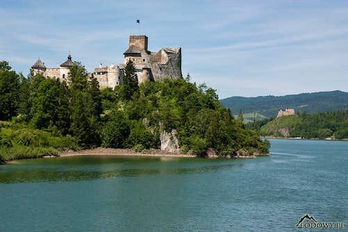 Niedzica and Czorsztyn medieval castles