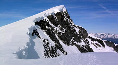 Summit of Glittertind