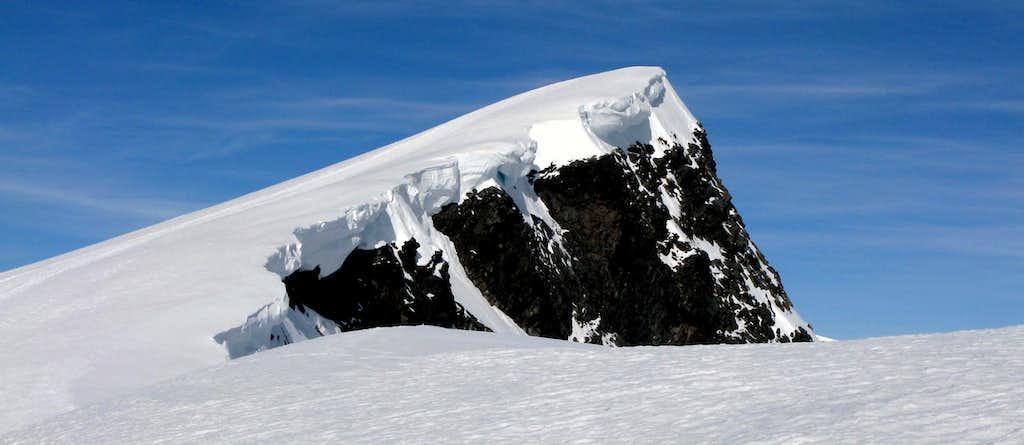 Summit of Glittertinden seen from East Ridge