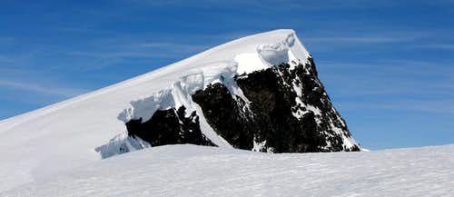 Summit of Glittertinden seen from East Ridge