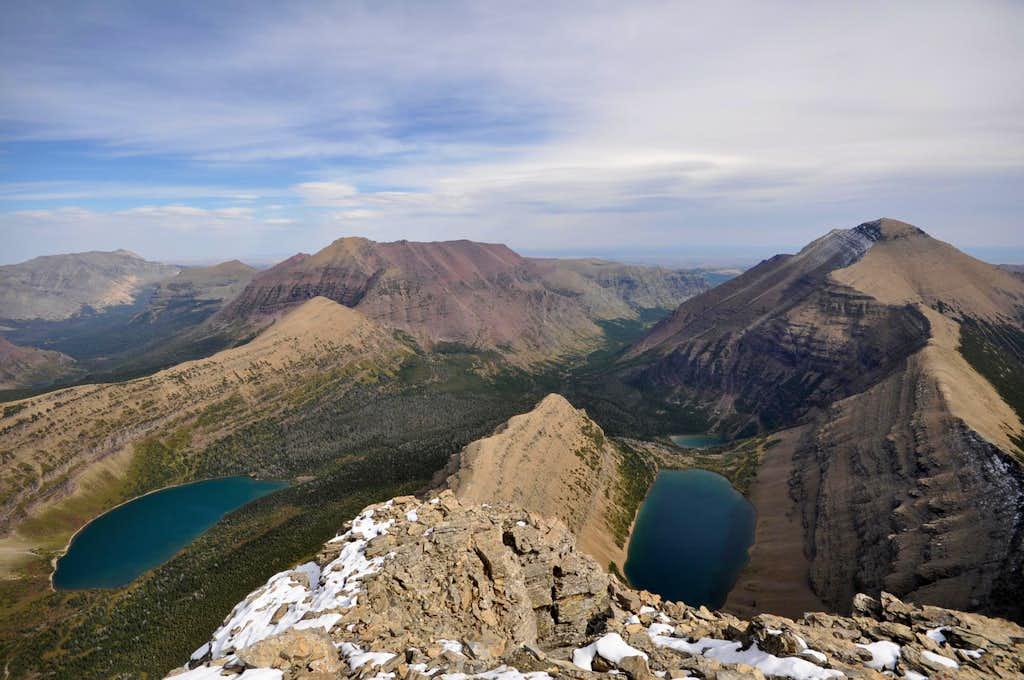 Flinsch Peak summit view