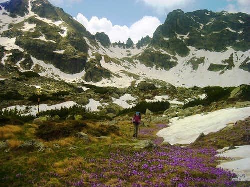Spring trecking in Rila mountain