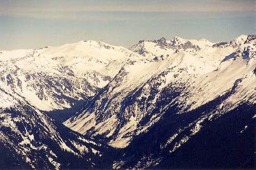 Mt. Hinman (7,492 ft) & Mt....