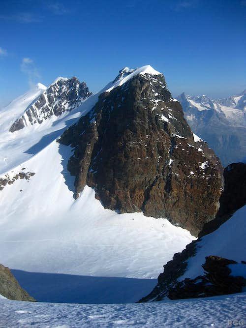 Breithorn from the Pollux summit ridge