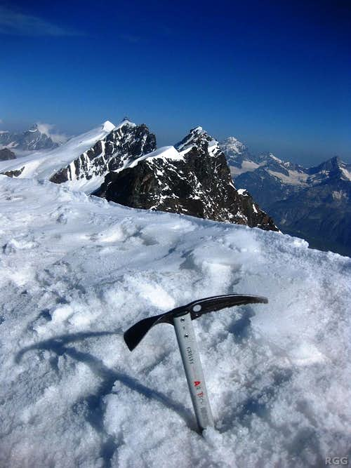 Breithorn from the summit of Pollux