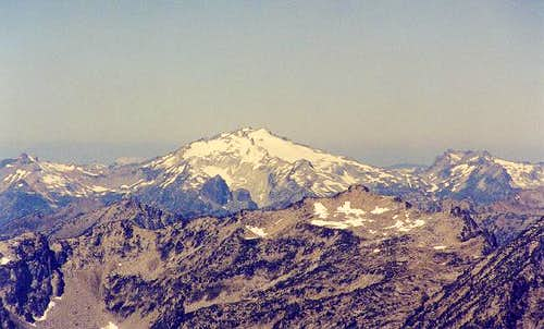 Mt. Daniel from the east...