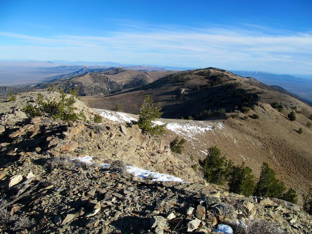 north at Pequop Range