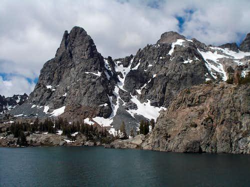 Riegelhuth Minaret and Minaret Lake