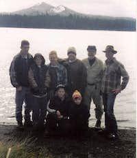 Tumac from Twin Sisters Lake