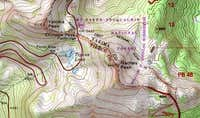 Naches Peak Map