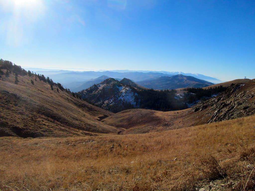 views near Francis Peak