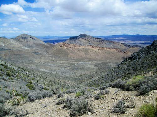 Tarantula Canyon trailhead