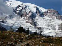 Mount Rainier from above Paradise