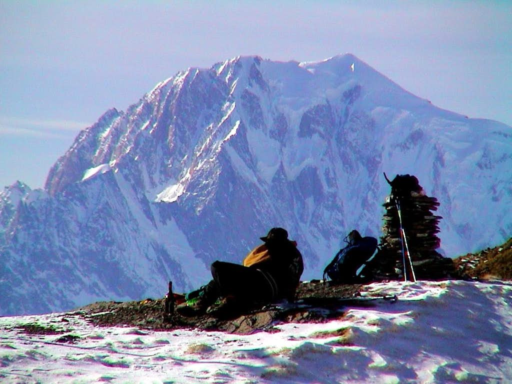 77  by Snow Shoes Champillon Hill & Mount Blanc 2001