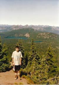 Twin Sisters Lakes from Tumac Mtn.