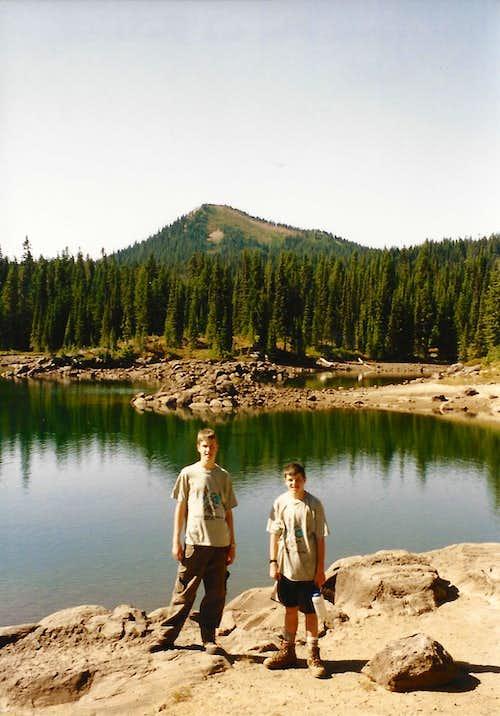 Tumac Mtn. from Blankenship Lakes