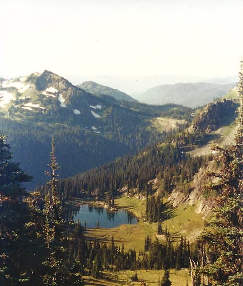 Naches Peak and Sheep Lake