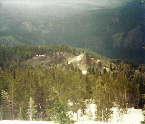 Buck Lake Ridge Spires