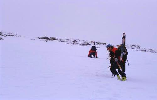 climbing Johannisberg...