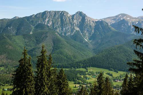 Giewont and Malolaczniak peaks