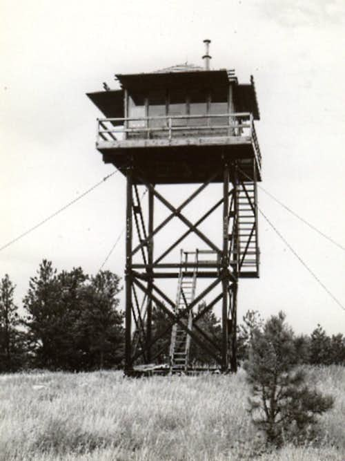 Old Parker Peak Firetower