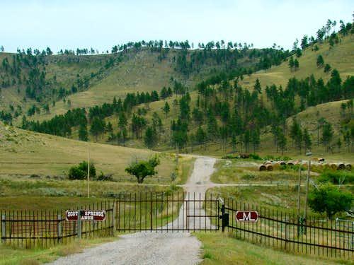 Ranch near Parker Peak