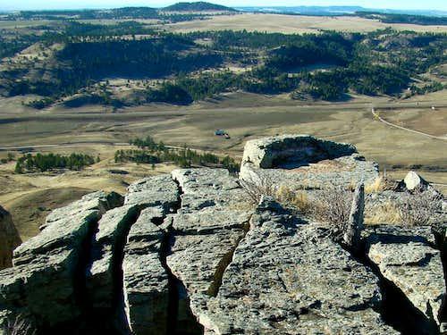 Matias Peak View from Parker Peak
