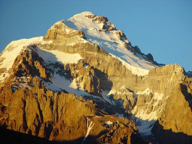 Aconcagua via the Polish Direct