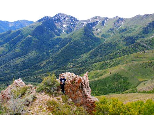 Lowe Peak from Butterfield Peak Ridge