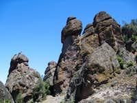 Pinnacles Along Juniper Canyon Trail