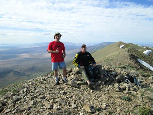 Eric and Al  on the summit