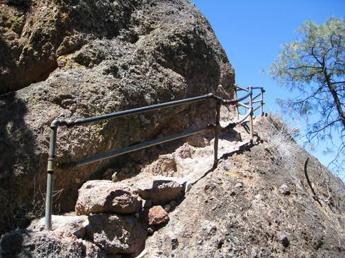 Stairs on High Peaks Trail