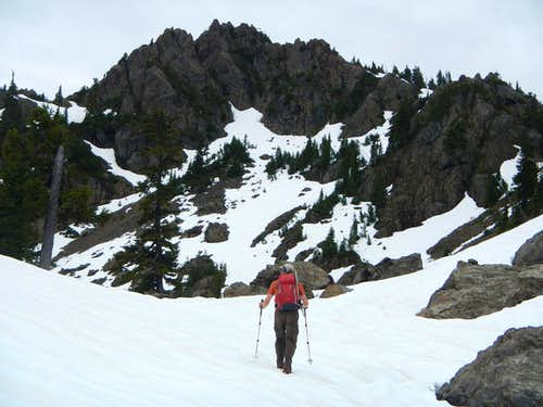 Approaching Copper Summit