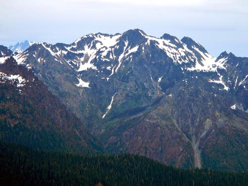 Mount Skokomish South Face