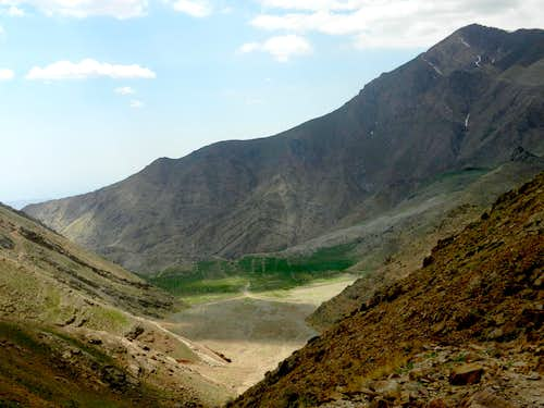 Mt. Saka and Dasht-e Havij