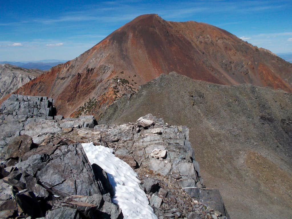 Dunderberg Peak from Peak 11,568