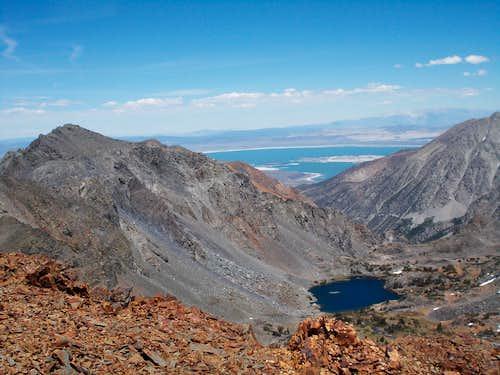 Black Mountain and Mono Lake