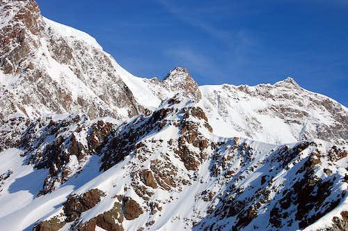 Zumnsteinspitze, Dufourspitze, Nordend