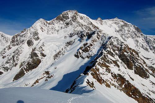 Monte Rosa from Punta Grober
