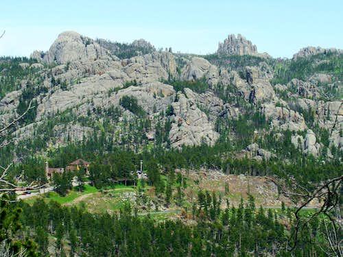 Sylvan Peak View East