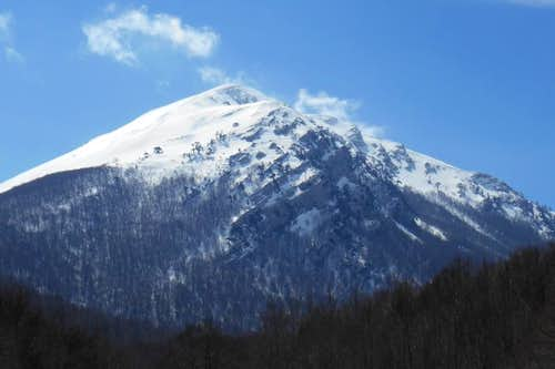 Mt. Pollino (from Piano Vacquarro)