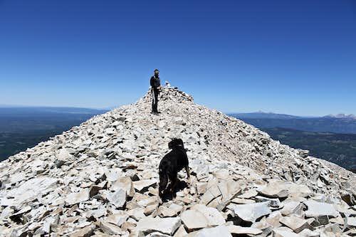 Nice summit of Hesperus