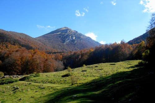 Mt. Pollino (from Piano di Vacquarro)