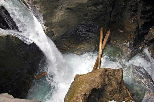 In the gorge of Liechtenstein